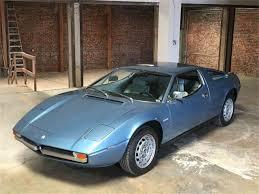 maserati merak interior 1974 maserati merak ss for sale classiccars com cc 1024570