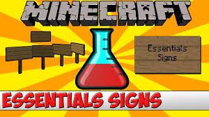 minecraft bukkit plugin essentials signs buy sell etc