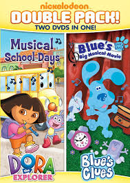amazon com dora u0026 blue u0027s clues double feature dora musical