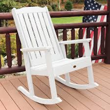 Wooden Rocking Chair Dimensions Belham Living Cottonwood Indoor Outdoor Wood Rocking Chair Gray