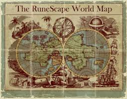 World Map Runescape by Old Style Map Of Runescape Runescape Art 9 Runescape Photo