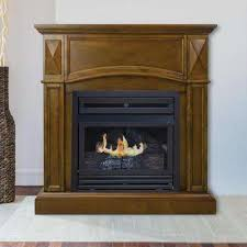 Indoor Gas Fireplace Ventless by Ventless Gas Fireplaces Gas Fireplaces The Home Depot