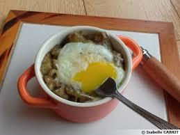 cuisine oeuf cassolette d aubergine et œuf cocotte recette de cuisine