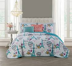 Dahlia 5 Piece Comforter And by Paris Themed Bedding