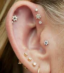 stud for ear the of adornment how to wear earrings feminine
