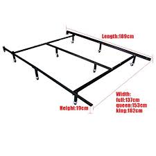 How To Assemble A Bed Frame Universal Easy To Assemble Heavy Duty Steel Metal Bed Frame With 4