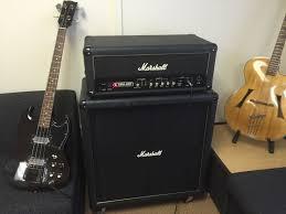 Marshall 412 Cabinet Marshall Bass Rig Vba400 Valve Bass Amp Head And Vbc 4x12 Cabinet