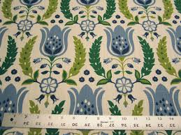 1 4 yards of robert allen home ornate frame drapery fabric