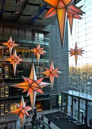 Christmas Decorations Shops New York by Display Of Christmas Decorations At Time Warner Center Shops At