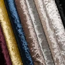 Crushed Velvet Fabric For Curtains Crushed Velvet Craft Fabric Ebay