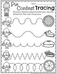 preschool thanksgiving activities preschool worksheets