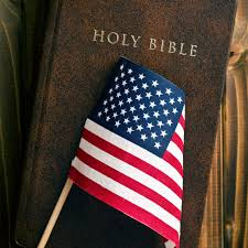 Flag With Bible The Slate Family