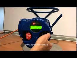 valve setup and torque setup of limitorque mx actuator youtube