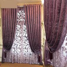 Thick Purple Curtains Purple Curtains Bedroom Koszi Club