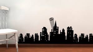 total fab may 2015 create a batman focal point super sized city scape wall decal