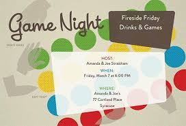 game night invitation template tea less toddy evite ideas
