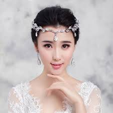 bridesmaid hair accessories crown bridal hair accessory wedding rhinestone waterdrop