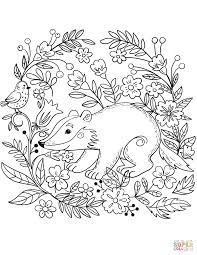 Forest Animals Coloring Book Free Coloring Pages Forest Animals Coloring Pages