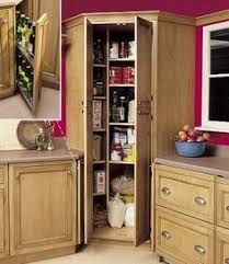 Kitchen Cabinet Pantry This Pullout Pantry Cabinet Has Five Rollout Trays That Can Hold
