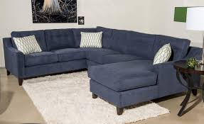 Sectional Sofa With Chaise Klaussner Audrina Contemporary 3 Sectional Sofa With Chaise