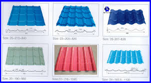 sheet types double layer rolling machine types of roof sheet roll forming