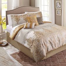 White Ruffled Comforter Black White And Gold Comforter Set Home Decoration Ideas