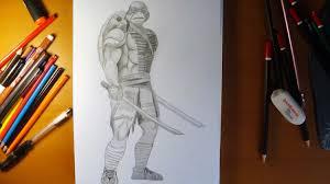 draw ninja turtles leonardo movie 2014