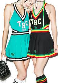 Marijuana Halloween Costumes Thc Cheer Dolls Kill