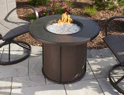 Fire Patio Table by The Outdoor Greatroom Company Stonefire Gas Fire Pit Table
