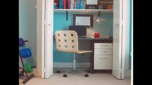 All Creative Ideas For Closet Office Designs And Home Office - Closet home office design ideas