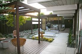 modern patio exterior design modern patio with wood pergola and wicker outdoor