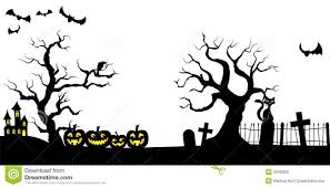halloween trees pumpkins background spooky halloween tree clipart clipartsgram com