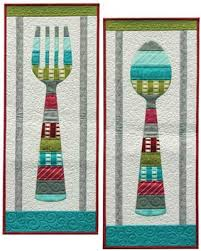 wall hanging quilt pattern for a bon appetit quilting cubby