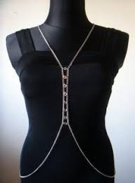 Draped Body Chain Start Gathering Old Chain Necklaces To Make Your Own Body Chain