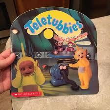 teletubbies tubby custard mess book sale 90