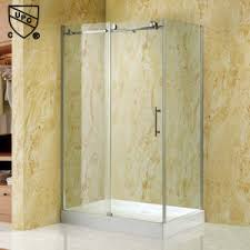 china sliding bathroom shower enclosure with stainless steel