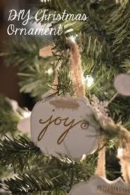 diy ornaments the happy scraps