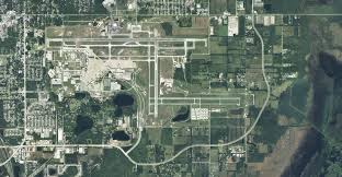 Map Of Orlando by Orlando Sanford International Airport Arial Map Of Airport And