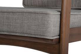 sesame street sofa modrest ridge modern sesame and walnut sofa set vig furniture