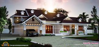 2500 Sq Ft House Plans Single Story by 2500 Square Feet Contemporary Style Kerala House Elevation Ideasidea