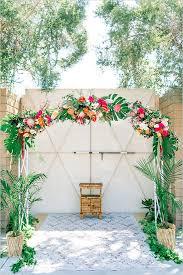 wedding arches tasmania tropical wedding floral wedding arch and floral