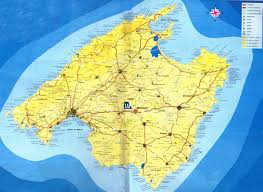 Majorca Spain Map by Please Not You Can Find Local Businesses Public Places Tourist