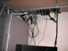 Computer Desk Cord Management Computer Desk Cord Management Simple Cable Management On The Desk