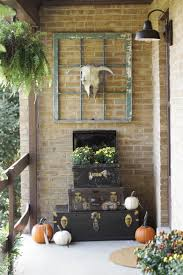 fall home tour vintage style porch cassie bustamante