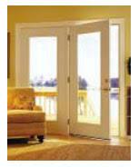 Center Swing Patio Doors Series 300 Swinging Steel Patio Door Target Windows And Doors