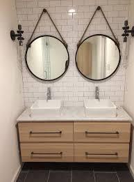 Rustic Vanity Mirrors For Bathroom by Best 25 Ikea Bathroom Mirror Ideas On Pinterest Bathroom
