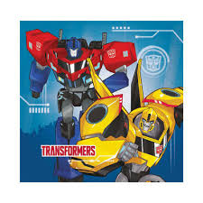 optimus prime birthday party upc 013051505394 transformers optimus prime bumblebee 16 paper