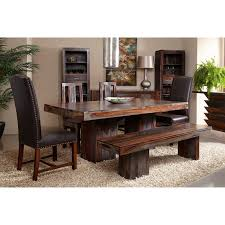 double pedestal dining table by coast to coast imports wolf and