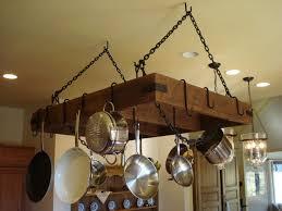 Kitchen Hanging Pot Rack by Best 25 Pan Storage Ideas On Pinterest Pan Organization