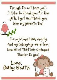 Thank You Cards For Baby Shower Gifts - people i want to punch in the throat anyone who throws an
